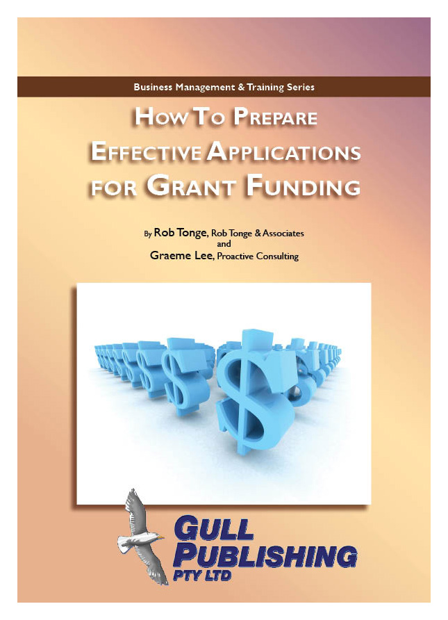 How to Prepare Effective Applications for Grant Funding