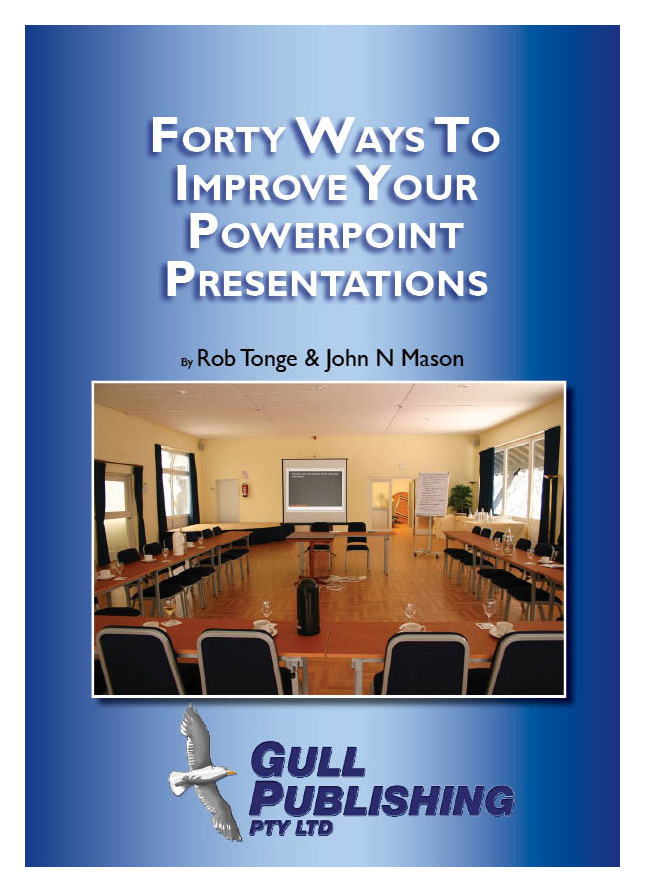 40 Ways To Improve Your Powerpoint Presentations.