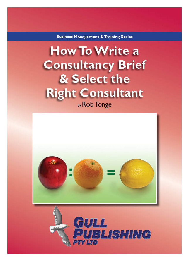 How to Write a Consultancy Brief & Select the Right Consultant