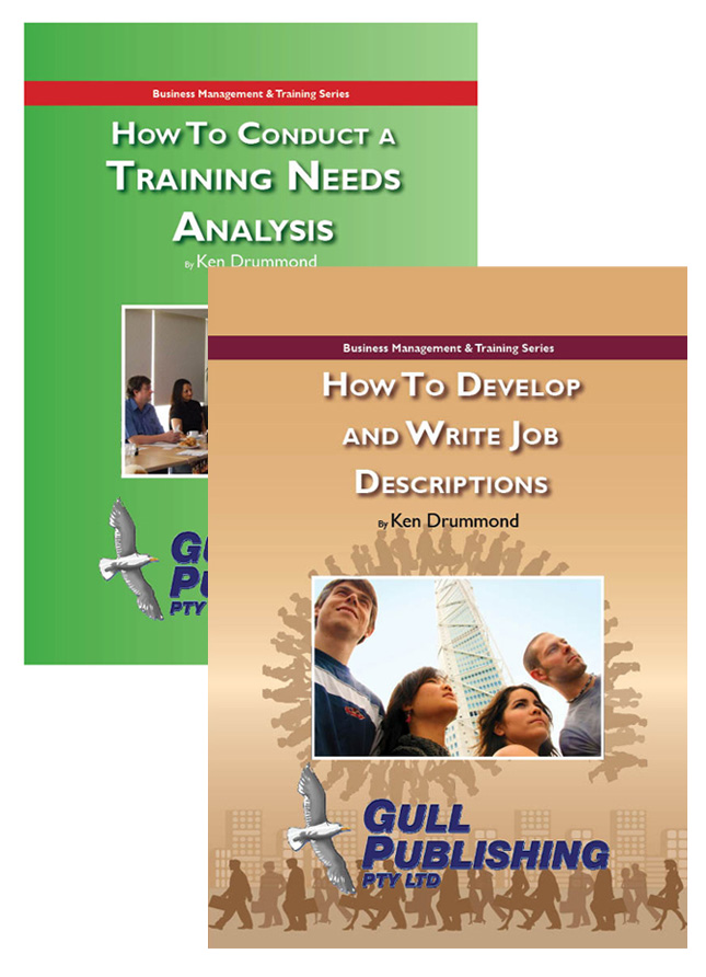 Combined Training Needs Analysis & Job Descriptions manual